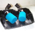 Luftfilterkastendeckel mit den beiden neuen Filtern