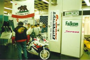 kainzinger_the_tuning_company_auf_motorrad_messen_und_motorrad_austellungen_IFMA_1994_Köln_mit_TBR_USA